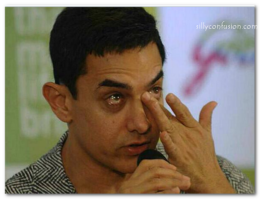 aamir khan crying pictures 3