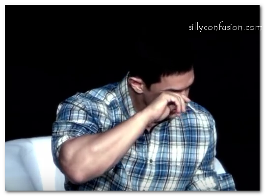 aamir khan crying pictures