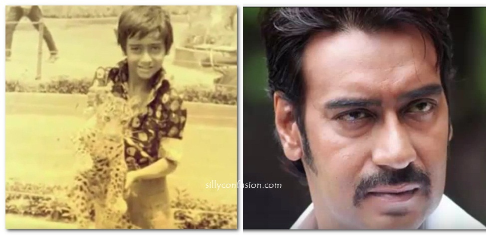 ajay devgan childhood pictures