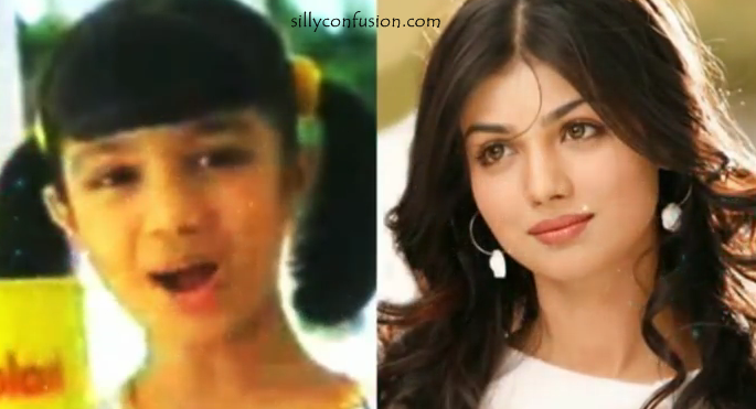 ayesha takia childhood picture