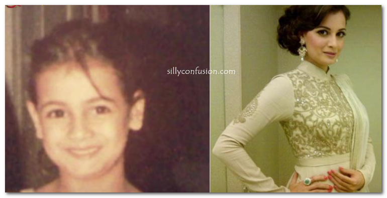 diya mirza childhood pictures