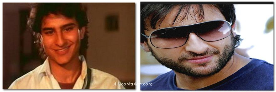 saif ali khan 90s now and then