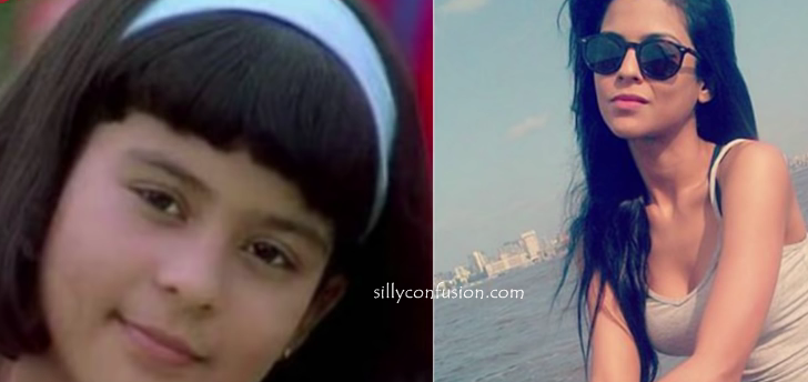 sana saeed childhood picture