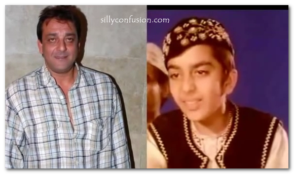 sanjay dutt then and now