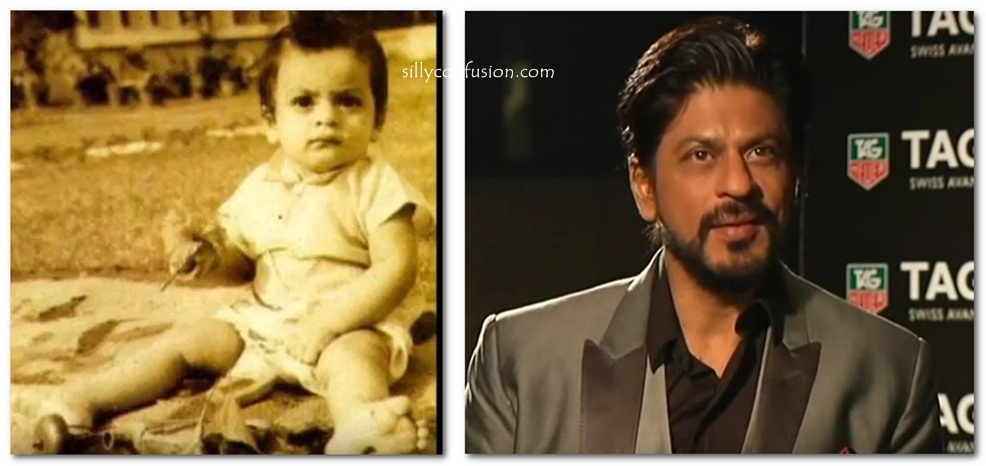 shah rukh khan childhood pictures
