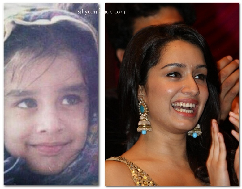 shraddha kapoor childhood pictures