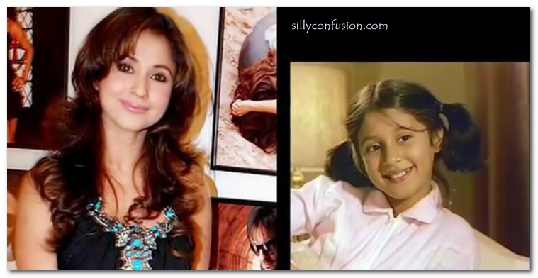 urmila matondkar childhood pictures