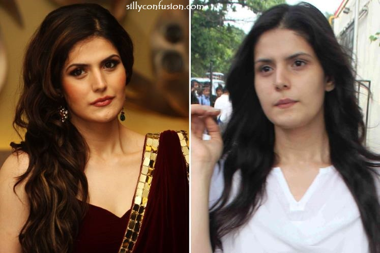 Zarine Khan without makeup