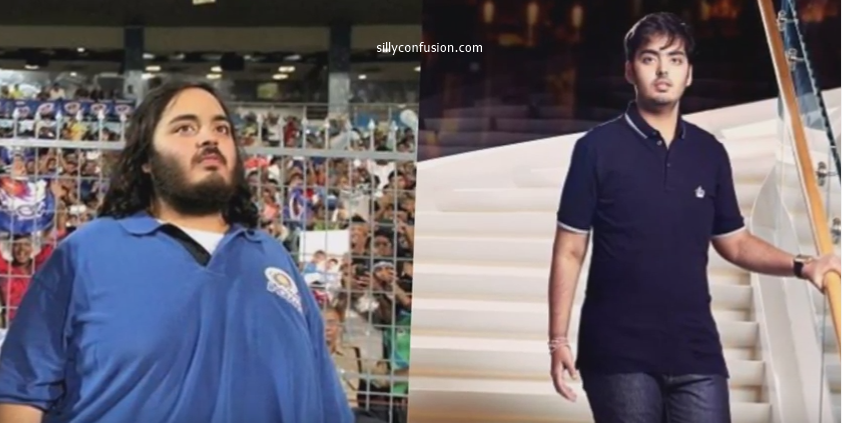 anant ambani weight loss before after pictures