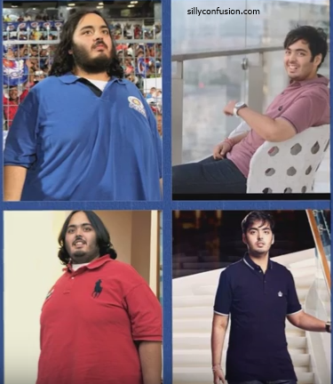 anant ambani weight loss pictures