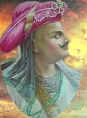 bajirao real painting