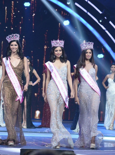 priyadarshini chatterjee miss india crown