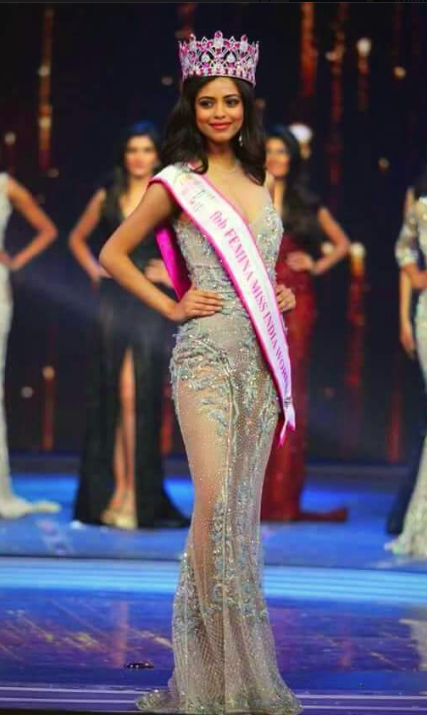 priyadarshini chatterjee miss india photo