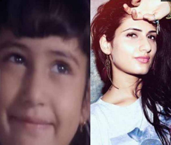 fatima sana shaikh childhood and now pictures