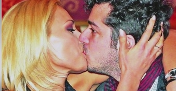 lulia vantur kissing husband Marius Moga