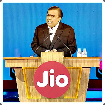 Mukesh Ambani Reliance JIO Speech image